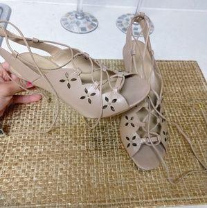 Michael Kors Lace Up Heels
